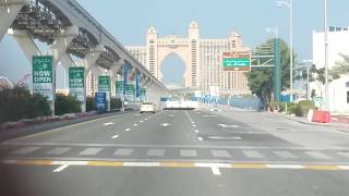 Atlantis The Palm,Dubai underwater tunnel
