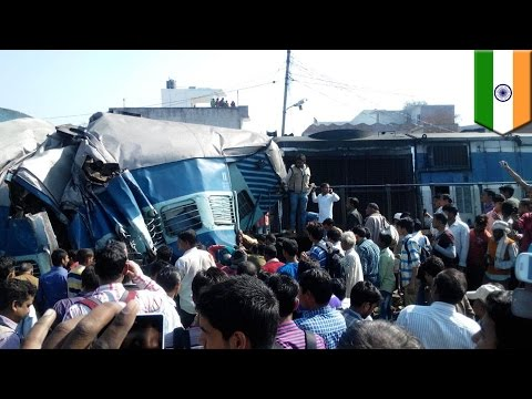 Train crash: India Janta Express train derailment, at least 30 dead and several injured
