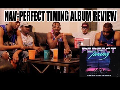 NAV - PERFECT TIMING REACTION/REVIEW (FULL ALBUM)