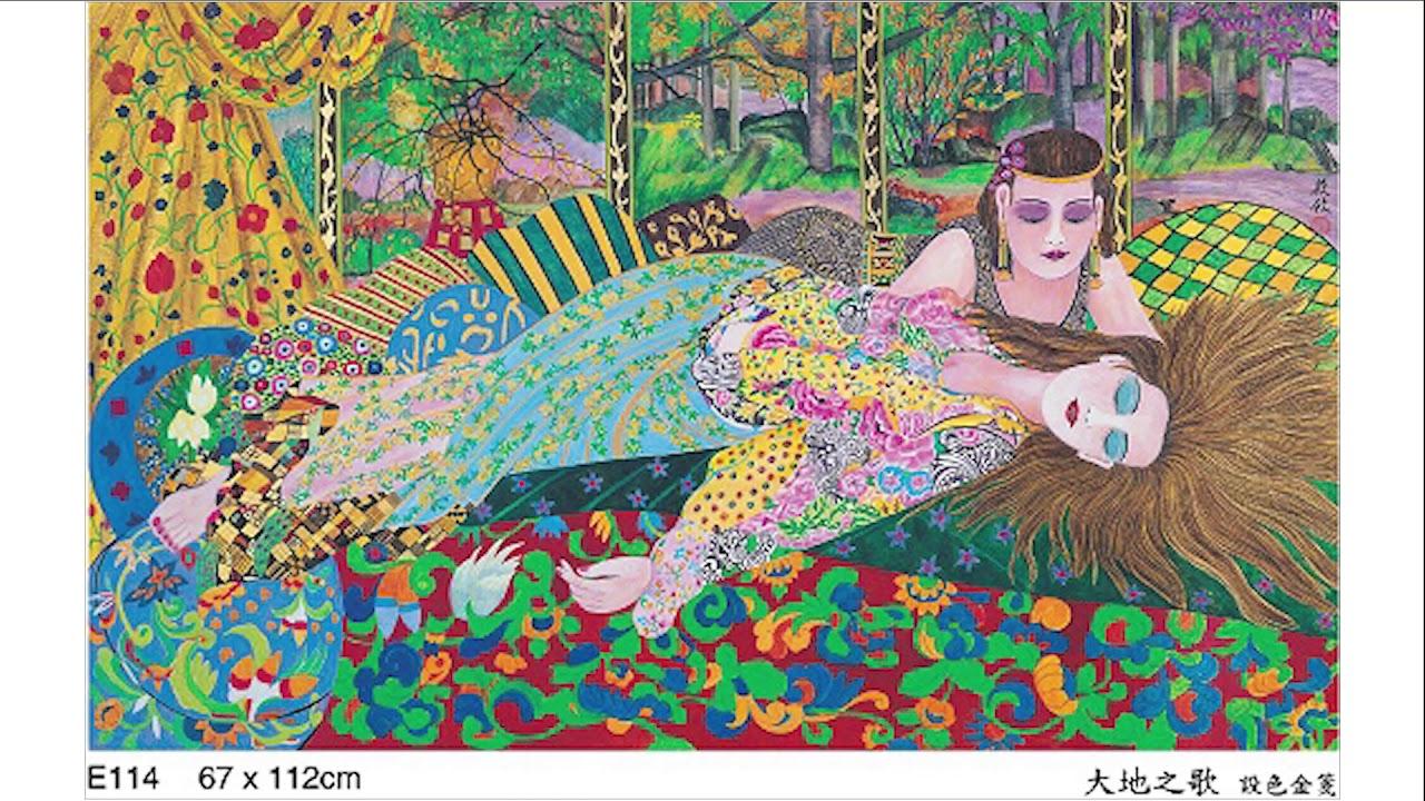 Contemporary Abstract And Figurative Painter Chung Siu Yau Studio 鍾筱攸畫室
