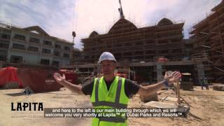 Dubai Parks and Resorts theme park(A great video showing the work in progress at Dubai Parks and Resorts, a new theme park set to open in Dubai in October 2016., 2016-04-27T10:26:52.000Z)