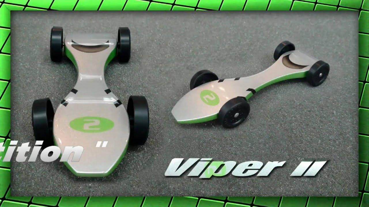 Super Fast Pinewood Racer - - - Viper II - - - The Super Kit #2 ...