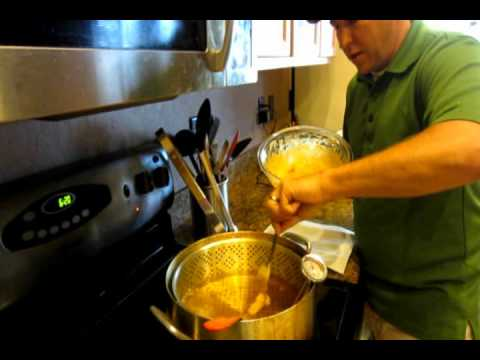 Fish tacos with baja sauce video how to make youtube for How do you make fish tacos