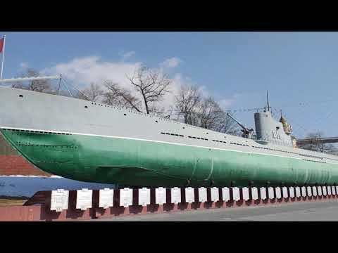 Корабельная набережная Владивостока с прогулкой в сквере