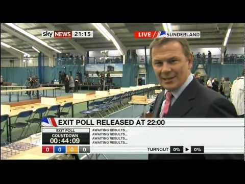 Sky News Election 2010 - Start of coverage