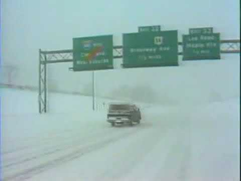 Video vault: The blizzard of 1978