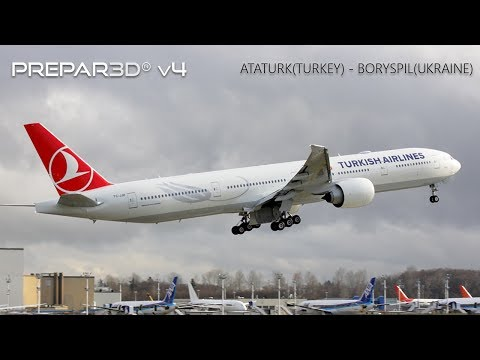 ATATURK(TURKEY) - BORYSPIL(UKRAINE), Boeing 777-200