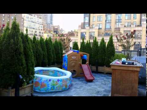 Rooftop garden contractors NYC