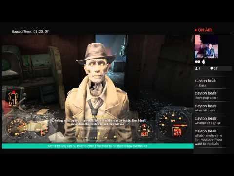 Lennys Baron Broadcast of Fun in Fallout 4 :D