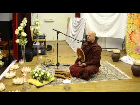 budu bana dhamma desana in London March 2015-Ven.Uduwe dhammaloka