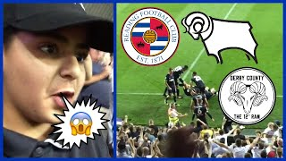 FIRST GAME OF THE 2018/19 SEASON💥 DERBY COUNTY VS READING FC AWAY DAY VLOG 🔥SCENES🔥