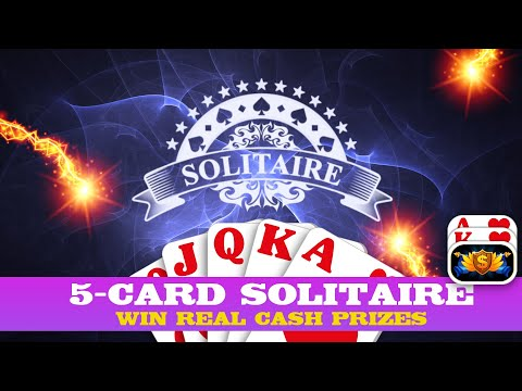 Best Solitaire On Android 2019 (5-Card Solitaire) Awesome New Card Game!