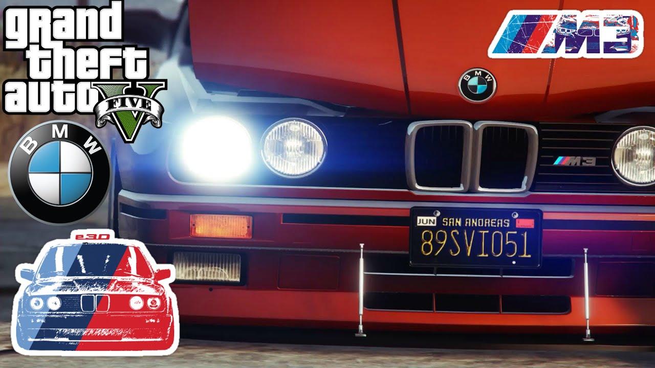Ekip Gta 5 BMW M3 E30 Buluşması - YouTube