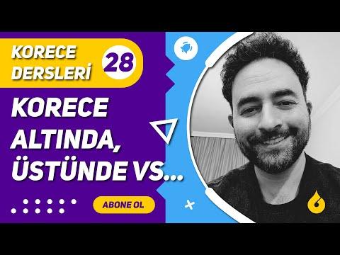 🇰🇷 Korece Dersi 28/60: Korece önünde, arkasında, üstünde, altında, içinde, dışında, yanında...