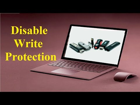 How to remove write protection from my flash drive