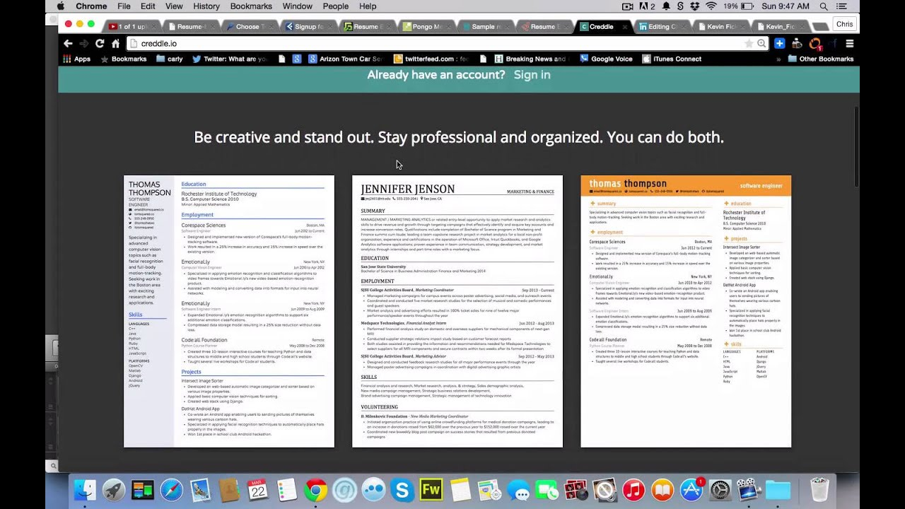 9 Online Resume Builders