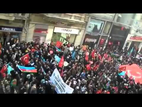 Turkey Supporting Brother Azerbaijan on Nagorno-Karabagh! (03/04/2016)