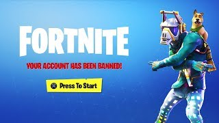 Fortnite BANNED me... AGAIN...