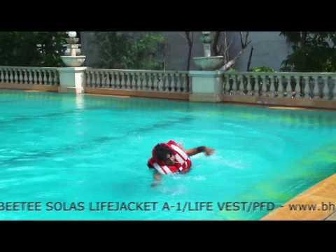 BEETEE SOLAS LIFEJACKET A-1 adult size / LIFEVEST / PFD