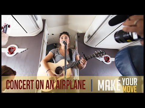 Alex G - Make Your Move | Surprise In-Flight Performance With Southwest Airlines