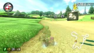 Hyrule Circuit [200cc] - 1:23.937 - エル (Mario Kart 8 Deluxe World Record)