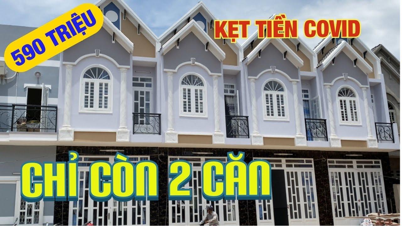 [Lỗ vốn]🙏 Bán nhà mini phố 4x10m giá rẻ 590tr cuối Hóc Môn Phan Văn Hớn