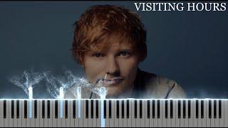 Ed Sheeran - Visiting Hours (Piano Tutorial + Sheets)