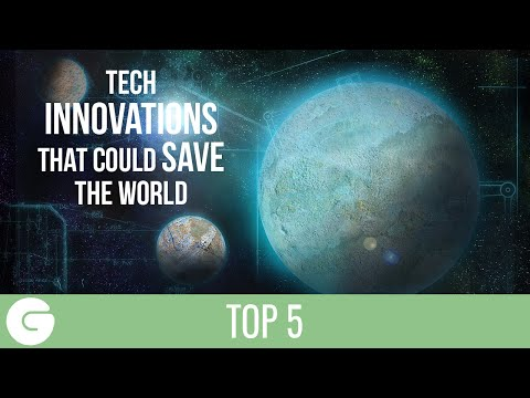 5 Tech Inventions That Could Save The World