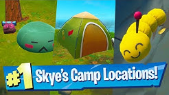 Visit Skye's Coastal Campsites Location - Fortnite Battle Royale