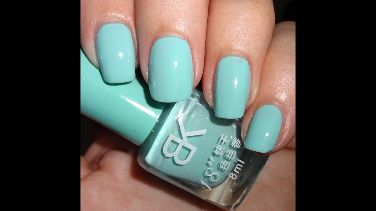 Born Pretty Store Sweet Candy Nail Polish - Light Blue - YouTube