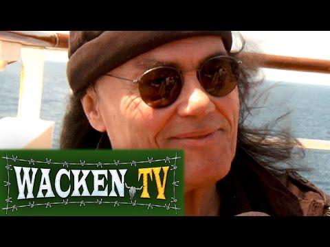 Tony Carey (ex-Rainbow) - Interview at Full Metal Cruise V