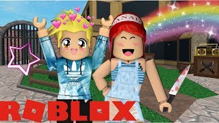 PLAYING MURDER MYSTERY WITH MY BROTHER! Roblox