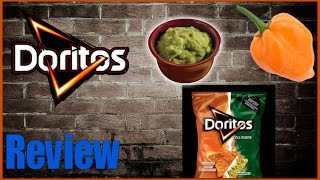 "♥doritoes Collison ""habanero & Guacamole"" Review♥-oct 7th 2015"