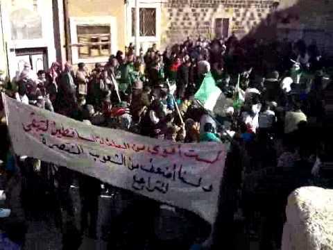 حماه-الشيخ عنبر ولا فتة للنظام المجرم من الثوار 20/1/2012
