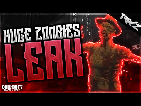 Black Ops 3 Zombies - HUGE ZOMBIES LEAK! Theme Music, Perks & Audio (Call of Duty Zombies)