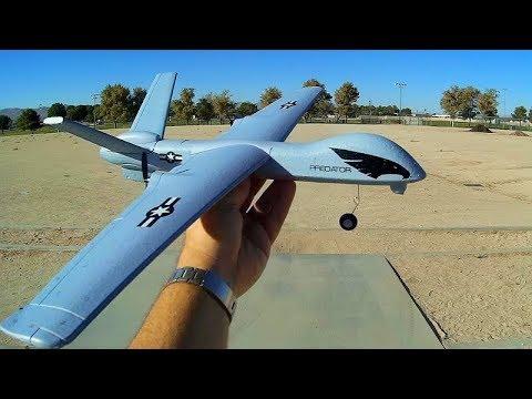 Z51 Predator Drone (MQ-9 Reaper) Flight Test Review
