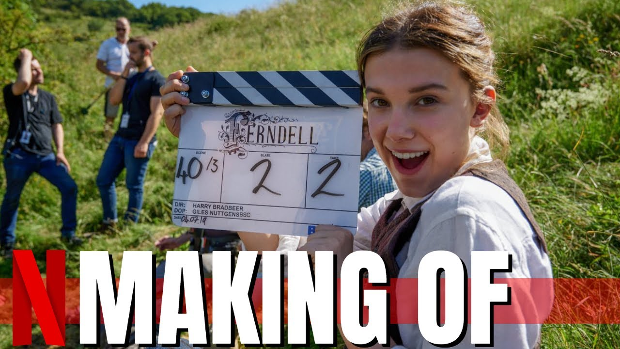 Making Of ENOLA HOLMES - Best Of Behind The Scenes | Hinter den Kulissen | Funny Moments | Netflix