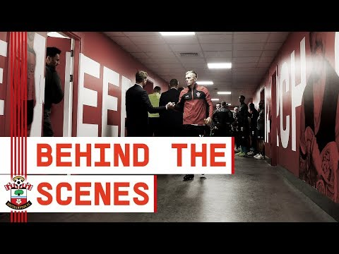 BEHIND THE SCENES   Southampton 1-2 Liverpool
