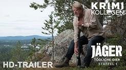 JÄGER - TÖDLICHE GIER - Staffel 1 - Trailer deutsch [HD] || KrimiKollegen