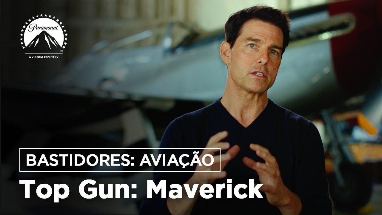 Top Gun: Maverick | Bastidores: Aviação | Paramount Pictures Brasil