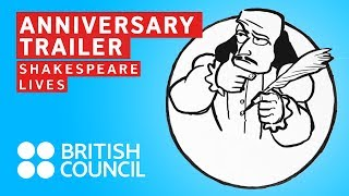 Shakespeare Lives in 2016 – anniversary trailer