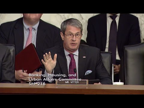 Vitter: Chairman Yellen Admits The Fed Would Not Bail Out Puerto Rico