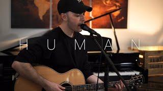 Download lagu Christina Perri - Human (Acoustic Cover by Dave Winkler)