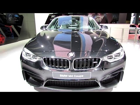 2015 BMW M4 Coupe - Exterior and Interior Walkaround - Debut at 2014 Detroit Auto Show