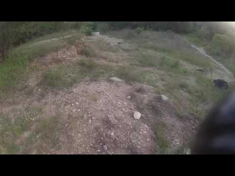 Mountain bike drop failure