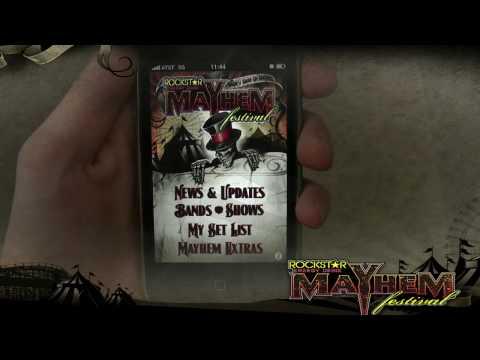 iPhone/ iPod Touch Demo Video- Rockstar Energy Drink Mayhem Festival Tour
