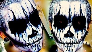 Demon / Corpse Paint; Halloween Makeup Tutorial.