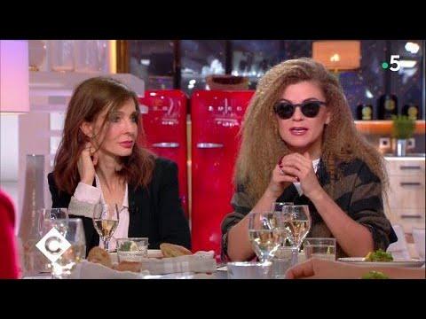 Anne Parillaud et Melody Gardot au dîner - C à Vous - 16/02/2018