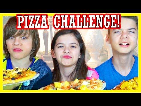 THE PIZZA CHALLENGE!  |  DISGUSTING INGREDIENTS!  |  KITTIESMAMA