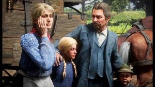 Red Dead Redemption 2 - Morgan Saves the German Family